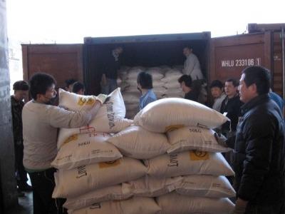 白米捐贈巴基斯坦災民