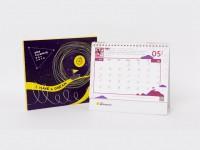 2019公益桌曆義賣(200本up可燙金)