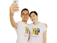 「Building love」潮T 夏日熱賣促銷原價798下殺600(7.5折)!(情侶裝2件組)