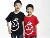 Love & Smile 微笑LOGO T(小孩)