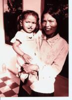基金會第一次見到柬埔寨荃虹 手術前